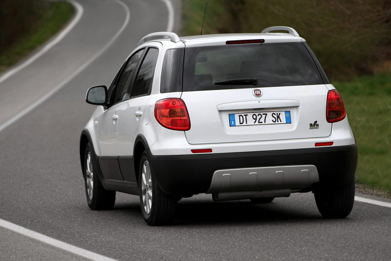 2010 Fiat Nuovo Sedici High Resolution Exterior - image 359602