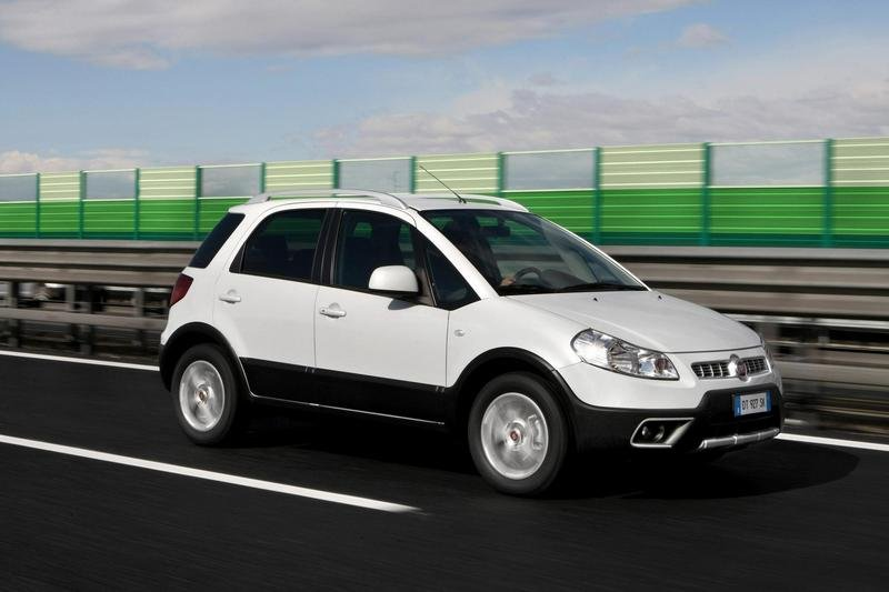 2010 Fiat Nuovo Sedici High Resolution Exterior - image 359597