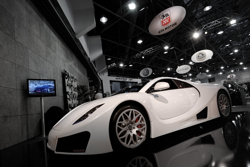 GTA Spano at Top Marques Monaco