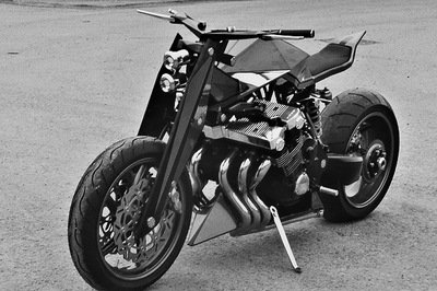 Honda CBX turns into Wide Boy