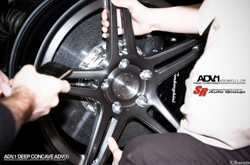 Lamborghini Reventon gets ADV1 wheels
