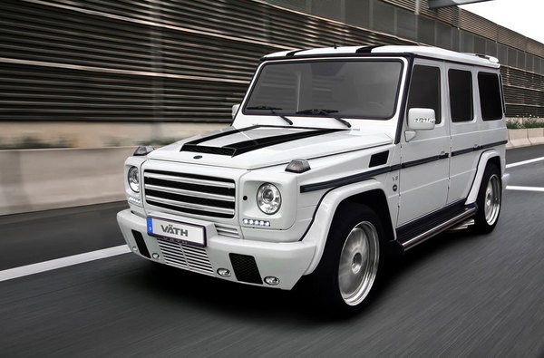 mercedes g55 amg by vath picture