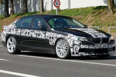 Most powerful BMW M5 ever spied testing
