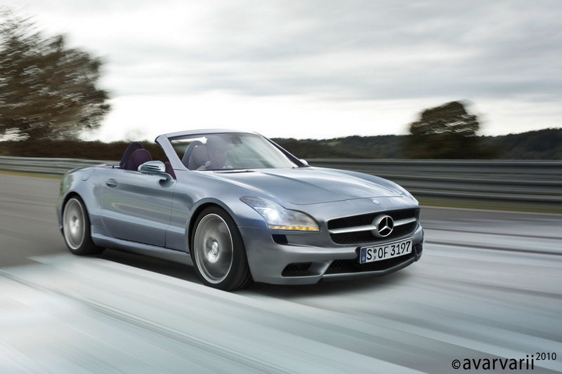 Next Generation Mercedes SLK Rendering Exterior Computer Renderings and Photoshop - image 356730