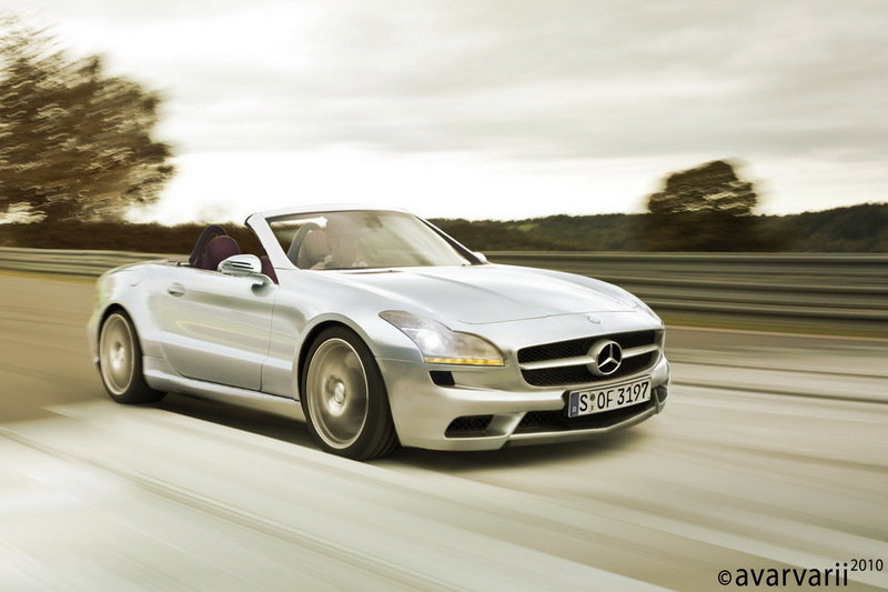 Next Generation Mercedes SLK Rendering