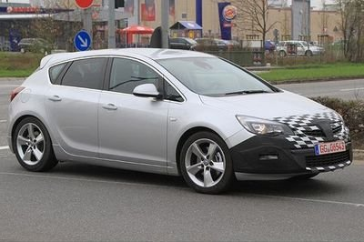 Opel Astra GSI to be revealed at the Paris Auto Show