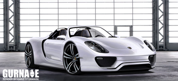 porsche 918 spyder concept rendering car news top speed. Black Bedroom Furniture Sets. Home Design Ideas