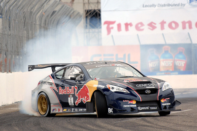 Rhys Millen nabs first podium finish in Formula Drift