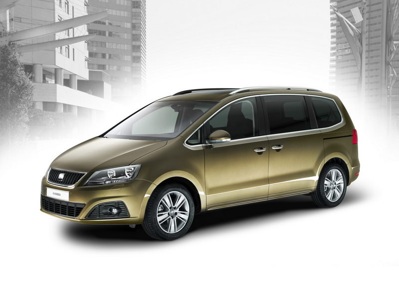 2010 Seat Alhambra High Resolution Exterior Wallpaper quality - image 358560