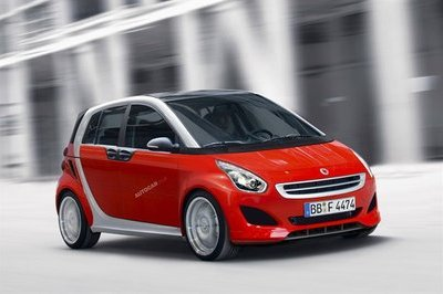 Smart prepares new Forfour
