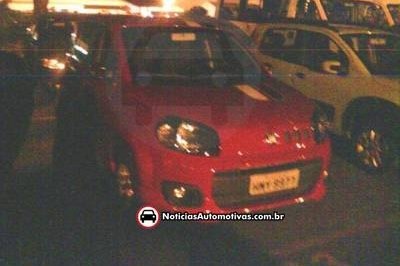 Spy photos of 2011 Fiat Uno snapped in Brazil