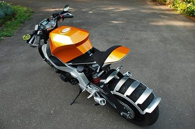 The KTM side of a Honda CBR 1000F