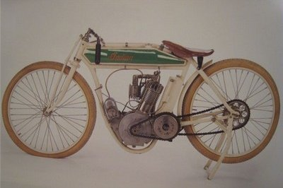 Up for auction: Indian racer once owned by Steve McQueen