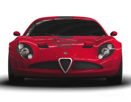 Zagato on Cars In 2010 And 2011 Zagato Alfa Romeo Tz3 Corsa With Specification