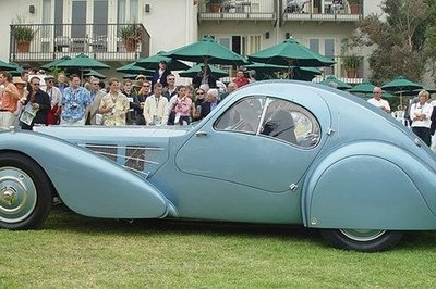 1936 Bugatti Type 57SC Atlantic is the world's most expensive car