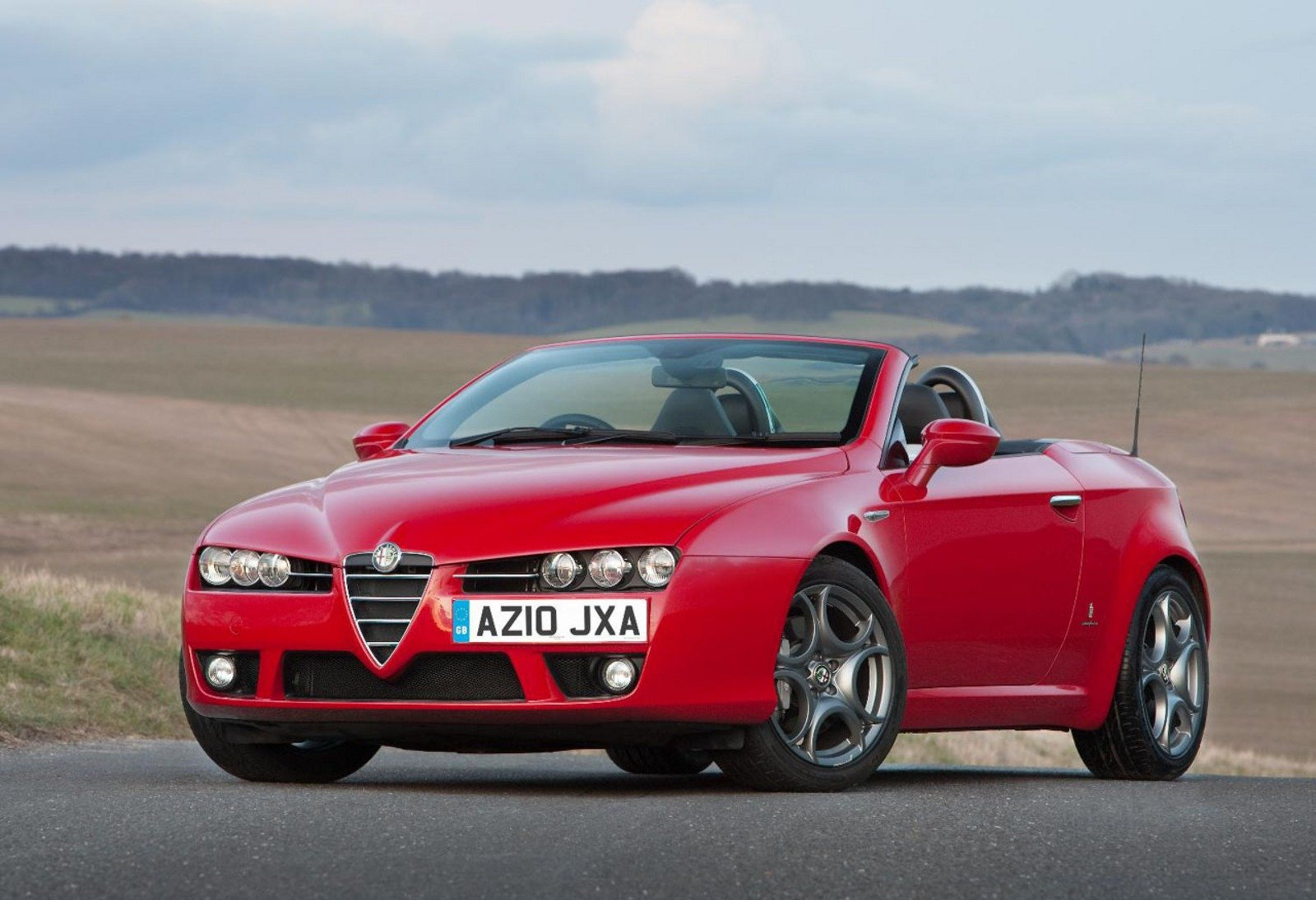 Alfa Romeo Spider Reviews Specs Prices Photos And Videos Top Speed Brera Original Design Unique Size Big Yellow Gets New Engines