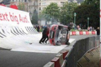 Audi A1 marketing stunt goes horribly wrong