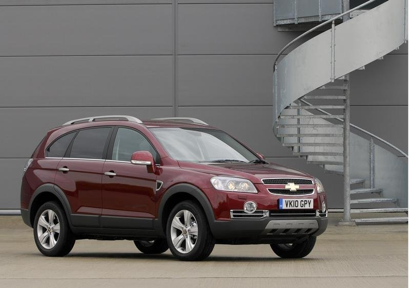 Chevrolet Captiva News And Reviews Top Speed
