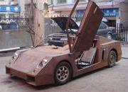 Chinese man builds his own Lamborghini - or something that looks like it - image 360451
