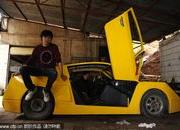 Chinese man builds his own Lamborghini - or something that looks like it - image 360452