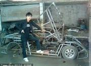 Chinese man builds his own Lamborghini - or something that looks like it - image 360450