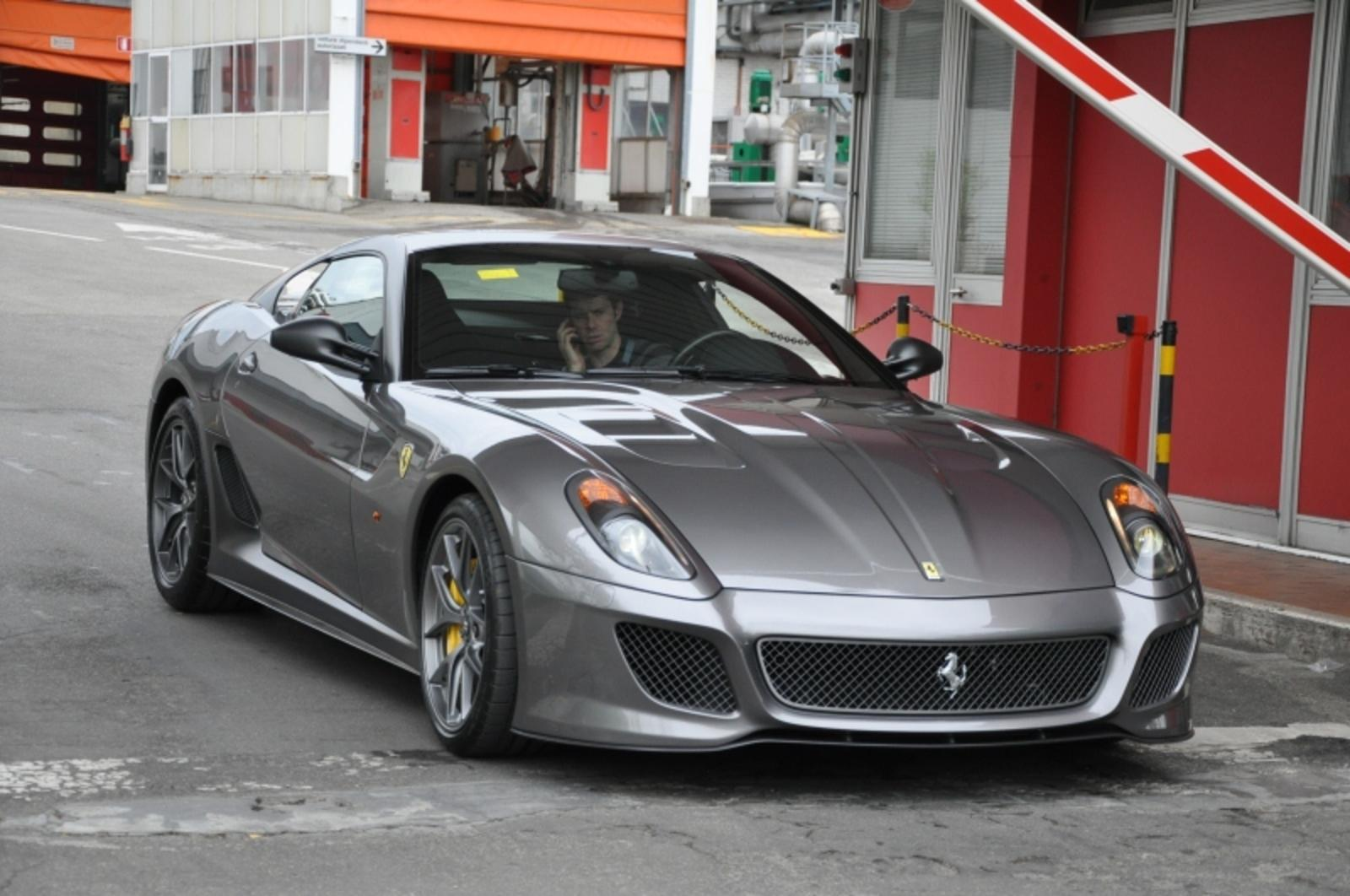 ferrari 599 gto spotted in real life news top speed. Black Bedroom Furniture Sets. Home Design Ideas