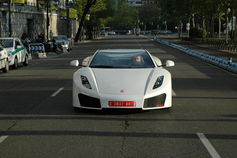GTA Spano on the streets of Madrid