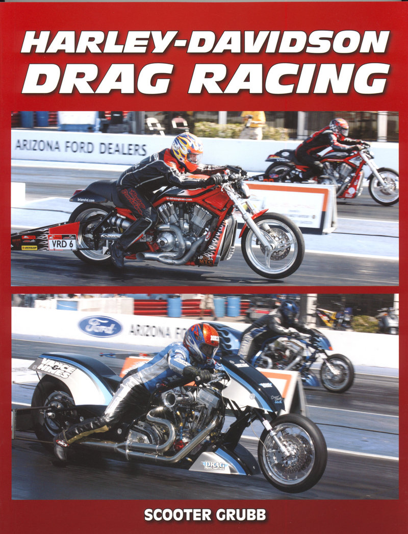 Harley-Davidson Drag Racing, the book that has it all