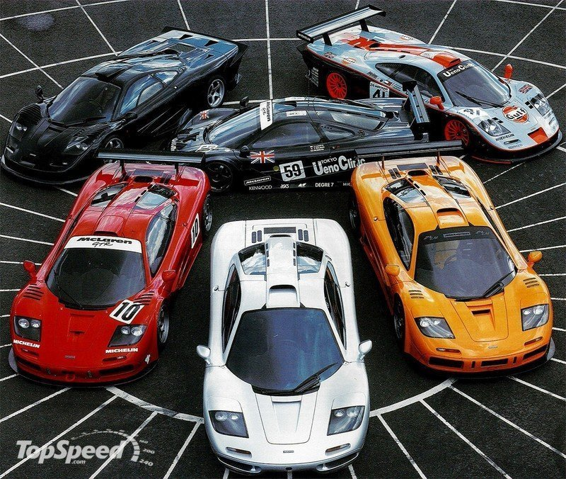 History-making McLaren F1 turns 20 years old!