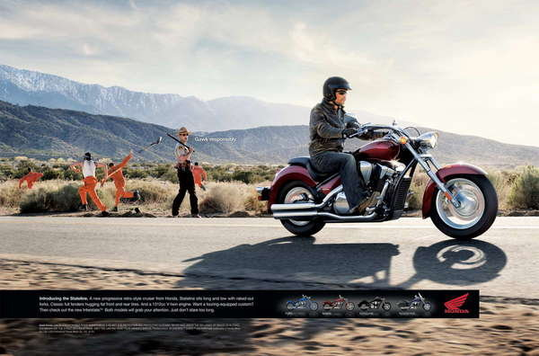 honda chain gang tv ad w video picture