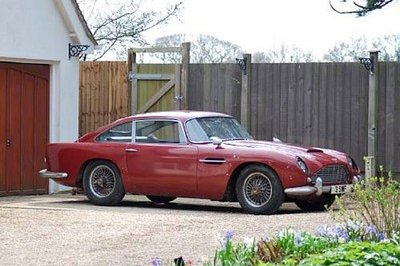 James Bond's 1964 Aston Martin DB4 from Goldfinger being put up for auction