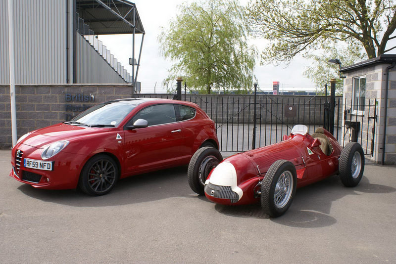 "Meeting of the Alfas: ""158 F1 Racer, meet the Mito QV"""