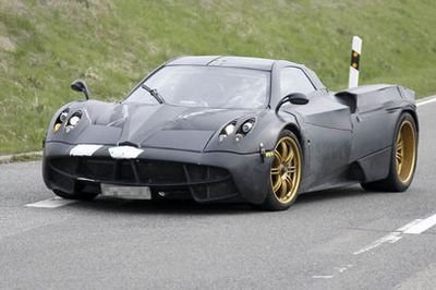 New details on the Pagani C9