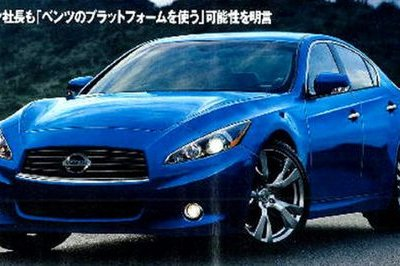 Next Infiniti M and G to share platform with Mercedes E-Class?