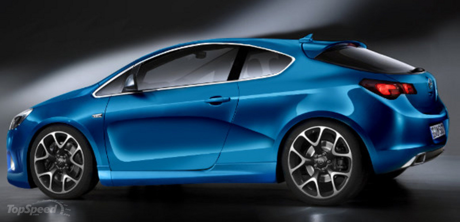 opel astra coupe sport rendered news top speed. Black Bedroom Furniture Sets. Home Design Ideas