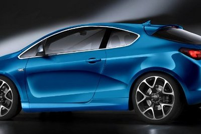 Opel Astra Coupe Sport rendered