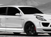 Porsche Cayenne Turbo two-door Coupe by Merdad