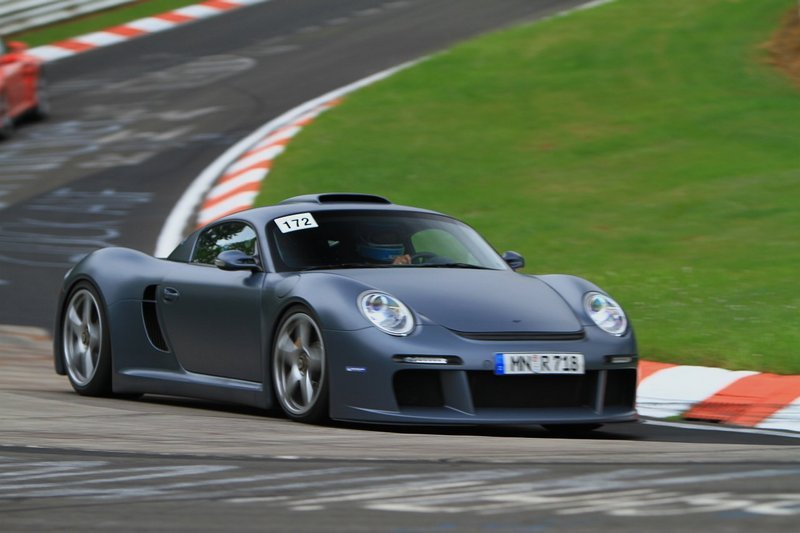 2007 RUF CTR3 at the Nurburgring