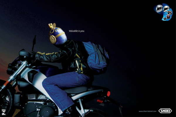 """Can Am 1000 >> Safety Ad: """"Valuable Is You"""" By Shoei News - Top Speed"""