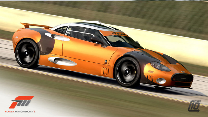 Spyker C8 Laviolette LM85 coming to Forza Motorsport 3