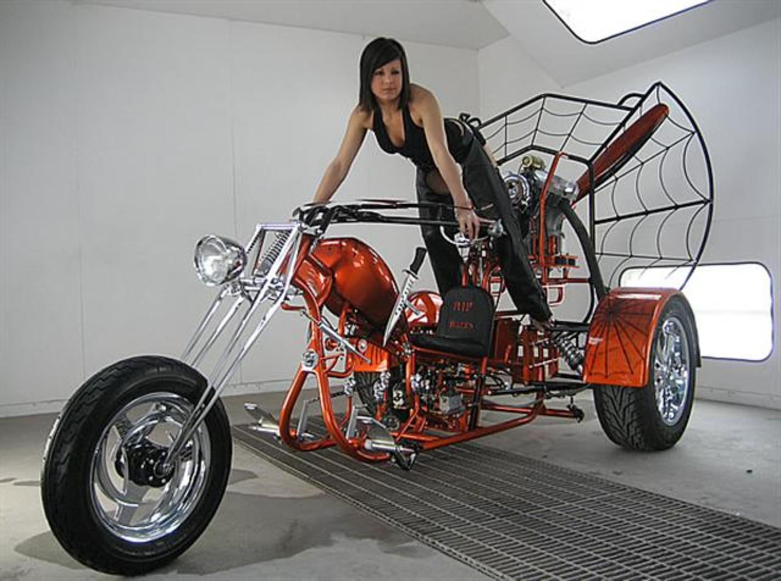 Maxx Biker Top Speed Crown Easy Blend Multi Mini Chopper The Airboat Inspired Trike