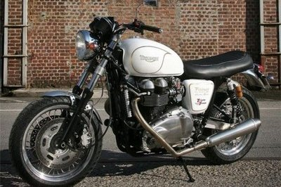 Triumph Bonneville by Pettinari