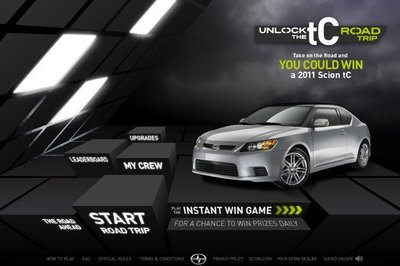 Unlock the tC; Win a 2011 Scion tC