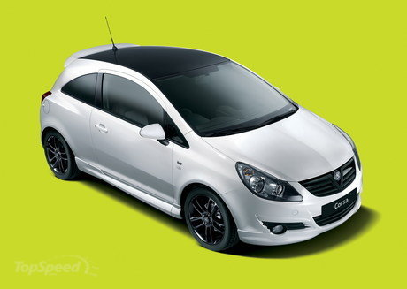 vauxhall corsa black and white limited edition