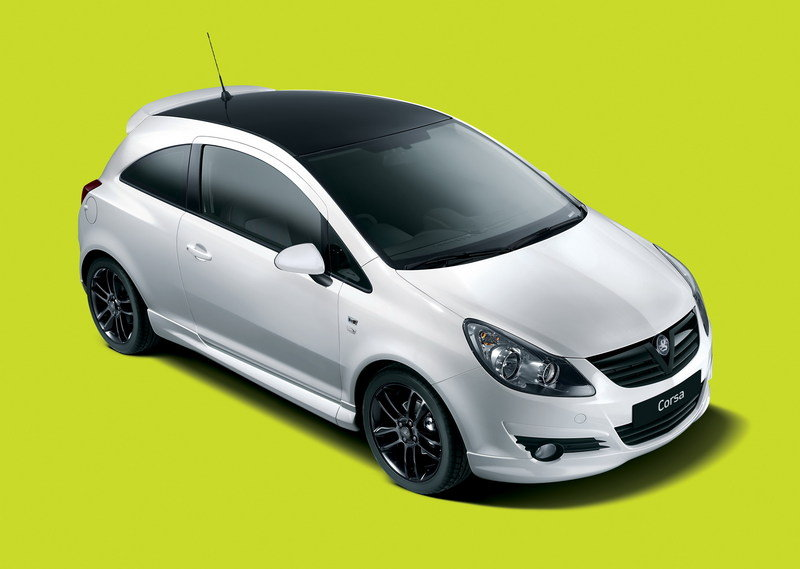 2010 Vauxhall Corsa Black and White Limited Edition
