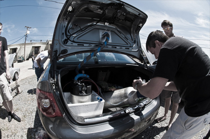 Volkswagen Jetta owner installs working beer tap on his trunk