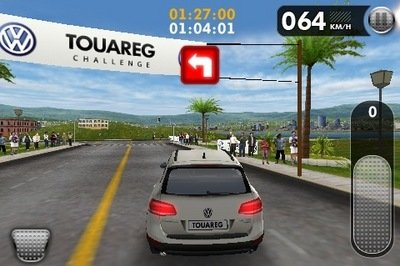 "Volkswagen launches the ""Touareg Challenge"" for the iPhone"