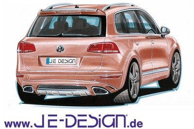 2010 Volkswagen Touareg Wide Body by Je Design