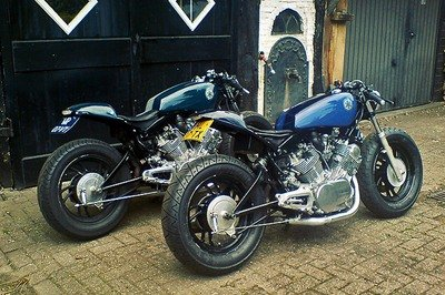 Yamaha Virago café racer means business