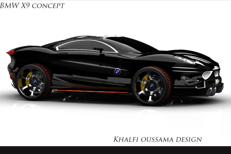 18 Year Old S Bmw X9 Concept Looks About As Angry As Any Concept You Ll See News Top Speed